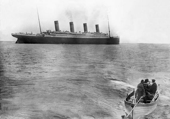 Az utolsó fotó Queenstownnál készült az óceánjáróról 1914. április 11-én.
