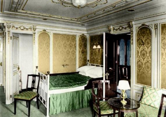A hálószobák bútorzata, dekorációja is előkelőséget sugárzott abban a korban.