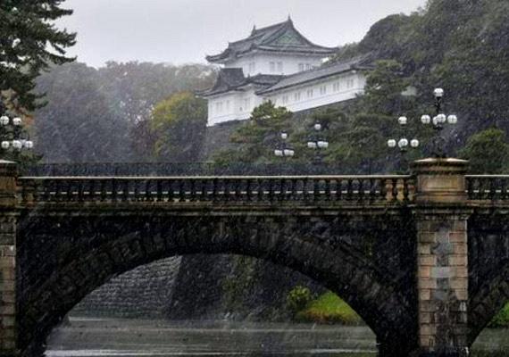 A Japán Meteorológiai Ügynökség figyelmeztette a lakosságot, hogy fokozott óvatossággal közlekedjenek a csúszós utakon, és vigyázzanak a fákon, vezetékeken felhalmozódott hóval.