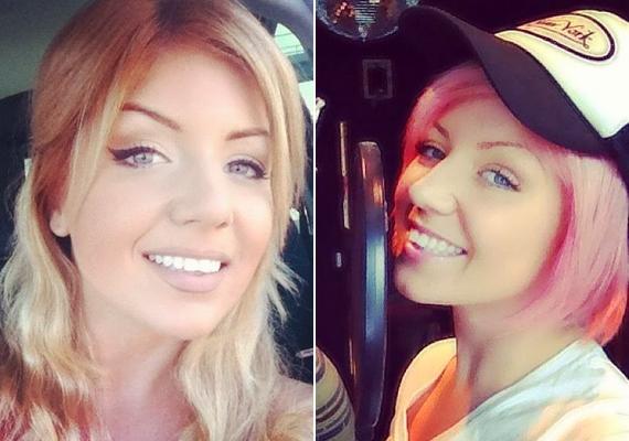 Igazi átalakulóművész az énekesnő, leginkább a frizurájával játszik, volt már szőke, barna, de még rózsaszín haja is.