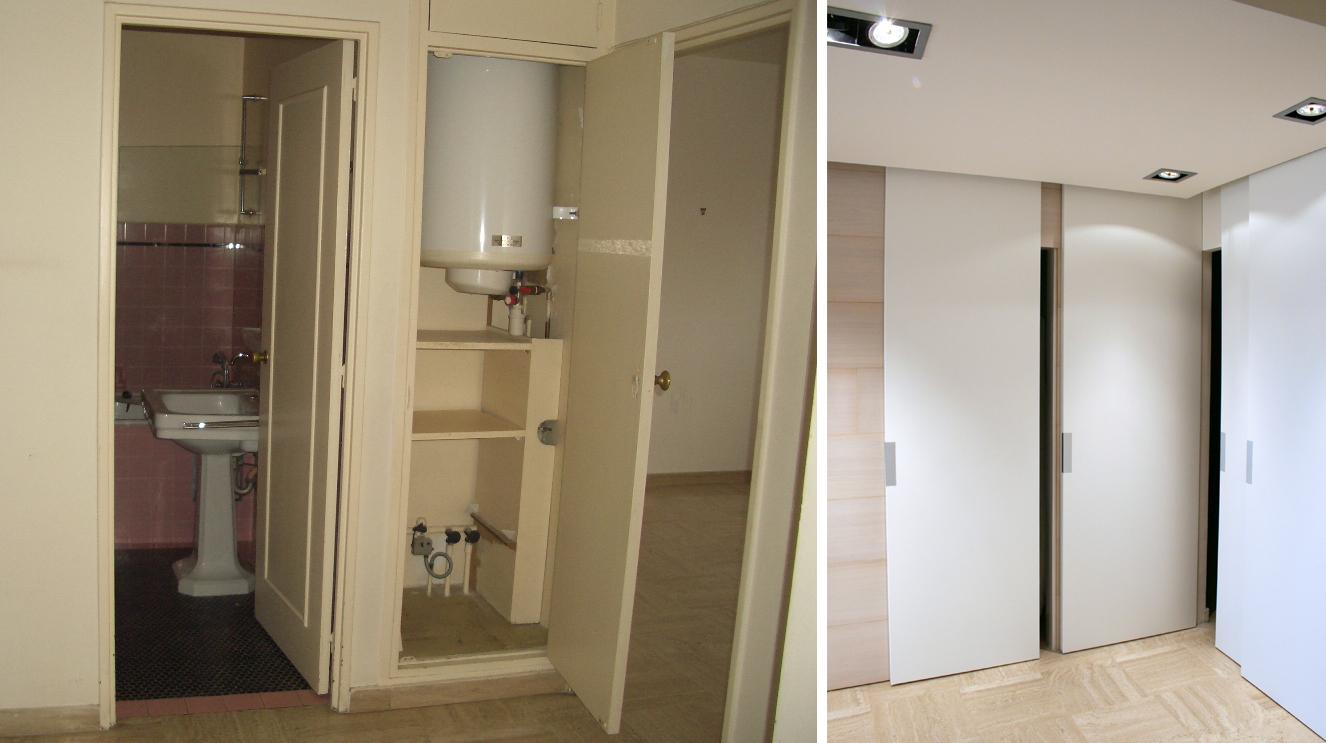 Fürdőszoba bejárat Cannes-ban