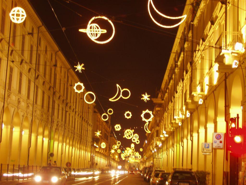 Via Po Karácsonykor
