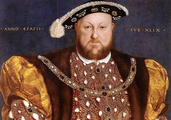 VIII. Henrik angol király nem csak sok felesége miatt hírhedt. Az uralkodó nagyon hiú és lobbanékony természetű volt, fiatalon nagykanállalhabzsolta az életet.