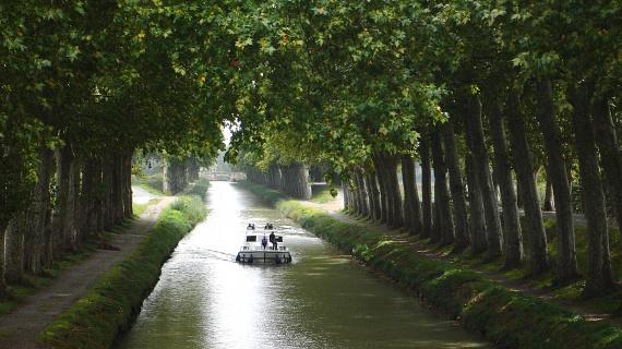 A Canal du Midi a város egyik legnagyobb büszkeségének számít, 1996 óta az UNESCO Világörökségi Listáján is szerepel. A kanális eredeti célja az Atlanti-óceán és a Földközi-tenger összekapcsolása volt. Csendes partjainak köszönhetően pedig remek helyszíne a romantikus sétáknak is.