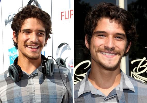 A szőrzet megváltoztatta a színész arcát, és öregített rajta néhány évet.
