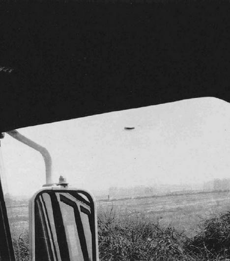 A Narancsvidéken is megfordultak a földönkívüliek. 1965 augusztusábanRex Heflin baleseti helyszínelő éppen a munkáját végezte az amerikai Orange megyében, amikor felfigyelt a rejtélyes alakra az égen. A férfi rögtön lefényképezte, amit látott.