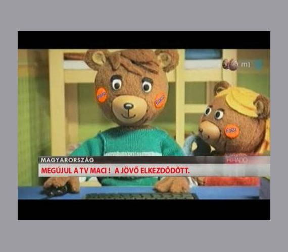 A nemzeti együttműködés TV-macija.