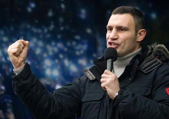Vitalij Klicsko az ellenzék nevében fogalmazta meg a követeléseket. Kedden ismét tárgyal Viktor Janukovics elnökkel.
