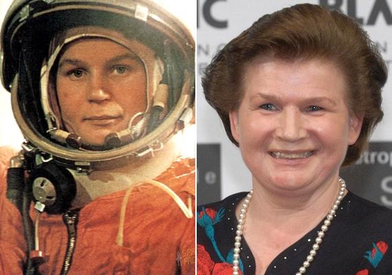 Ilyen volt az első női űrhajós 26 évesen, a küldetés idején, és így néz ki most.Valentyina Tyereskova március 6-án töltötte be 77. életévét.