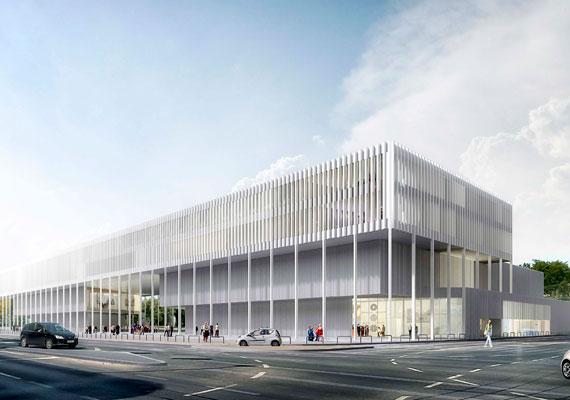 Egy francia cég nyerte el a Néprajzi Múzeum új épületének tervezésére kiírt pályázatát tavaly decemberben. Egészen megváltozik az Ajtósi Dürer sor és a Dózsa György út sarka.