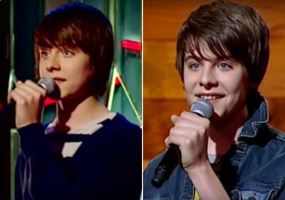 A kellemes hangú Alex annak idején nemcsak az énekléssel, de külsejével is belopta magát a lányok szívébe.