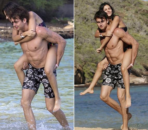 Victoria szerelmével, Pierson Fode-dal nyaralt a szigeten. A srác testét illetően kizárólag elismerő kommentek érkeztek a fotókhoz.