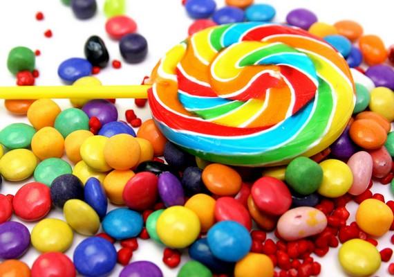 A színes édességeknél nincs vidámabb dolog.Kattints ide a nagy felbontású képért! »