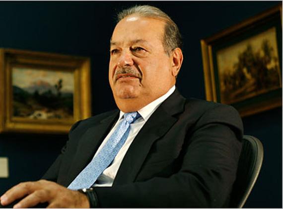 A világ második leggazdagabb embere a mexikói Carlos Slim, Latin-Amerika legnagyobb telekommunikációs vállalatának, az América Móvilnak a tulajdonosa, összvagyona 71,4 milliárd dollár. Slim lelkes BlackBerry-használó, de számítógépe nincsen.