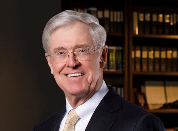 A Koch Industries vezérigazgatója, Charles Koch cége különböző iparágakban működik, például csővezetékekkel, kőolaj-finomítással vagy árukereskedelemmel foglalkozik.