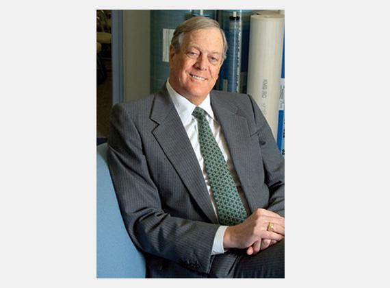 A világ hetedik leggazdagabb embere David Koch, a Koch Industries ügyvezető alelnöke. Testvérével, Charlesszal együtt a Time magazin száz legbefolyásosabb embere között volt 2011-ben.