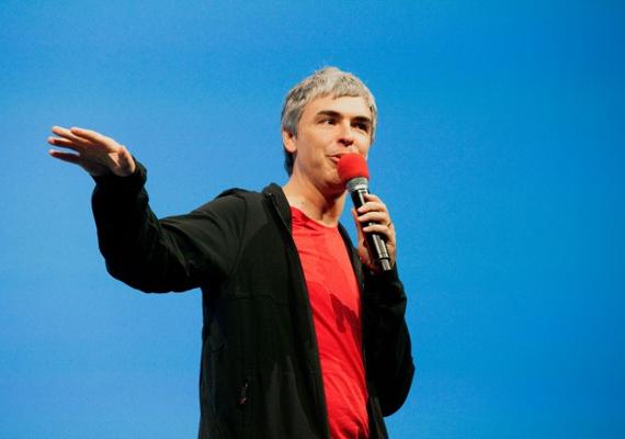 Szintén 40 éves és szintén a Google egyik alapítója, Larry Page, aki egyébként a 20. leggazdagabb ember a világon a forbes.com listáján. Az egygyerekes családapa a 17. helyen végzett, úgy, mint kollégája, Sergey Brin.