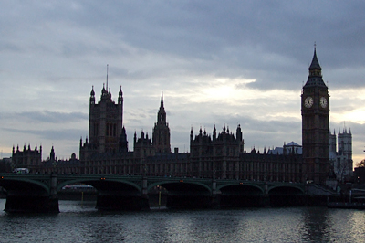 A Parlament és a Big Ben a Westminster híddal