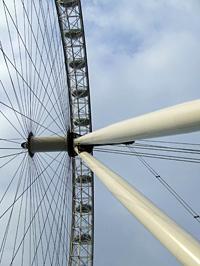 Hatalmas a London Eye, azonban mégis érdemes leküzdeni a tériszonyt