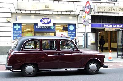 A taxik egységessége is hozzájárul a város jellegzetességéhez