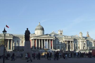 Trafalgar tér - The National Gallery