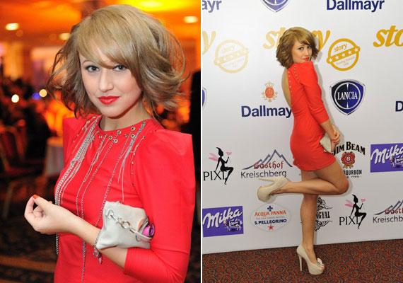 Barbie 2010-ben már elnyerte a legjobb női előadónak járó díjat.