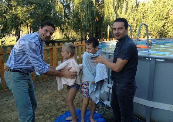 Ez a nyár igazán emlékezetes lehetett a Vona családnak.