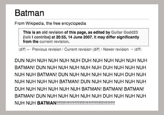 Ennél jobban nem is lehetett volna körülírni, ki is Batman valójában.