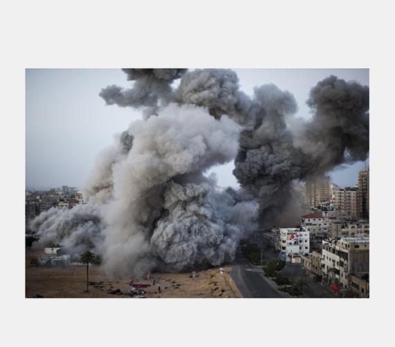 Összecsapnak az izraeliek és a palesztinok.