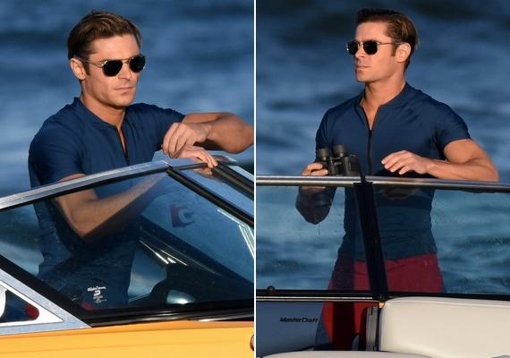 Zac Efron már akkor is sokat hozzátenne a filmhez, ha végig csak a motorcsónakban feszítene napszemüvegben, és kémlelné a vizet.