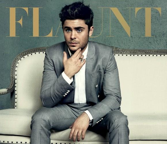 Zac Efron a Flaunt magazin címlapjára került.