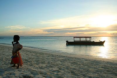 Nyugati part, naplemente