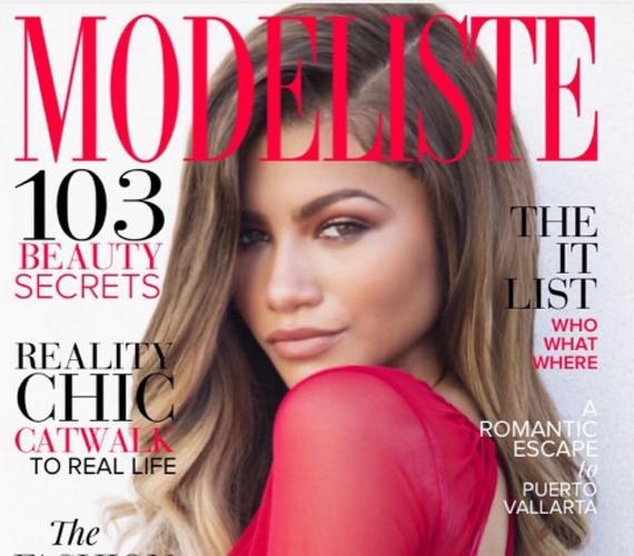 A színésznő egyébként címlapra kerül a magazin novemberi számában, és csak a belső fotóval volt elégedetlen.