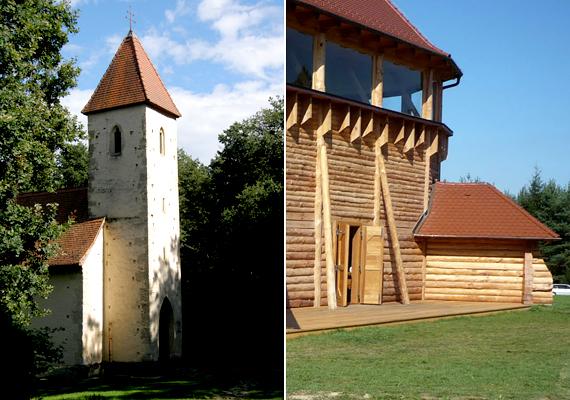 Egyes falvaiban nincs, vagy alig van térerő: ezek közé tartozik például Velemér vagy Magyarföld. A bal oldali képen a veleméri templom, a jobb oldalin a magyarföldi fatemplom látható.