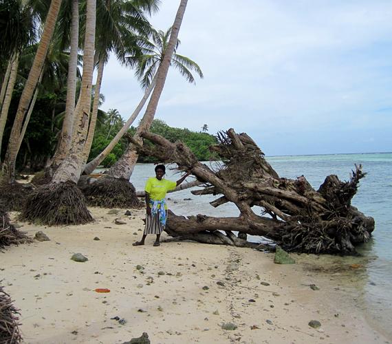 A Carteret-szigetek lakosainak kitelepítése már folyamatban van. A teljes süllyedést 2015-re jósolják a tudósok.