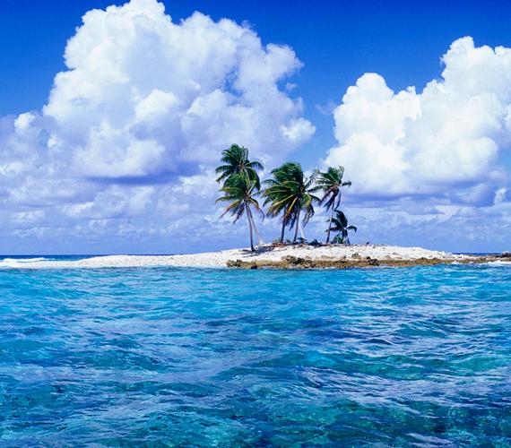 A Polinéziához tartozó Tuvalu egy szigetország, melyet a globális felmelegedés miatt már most komoly árvizek sújtanak.