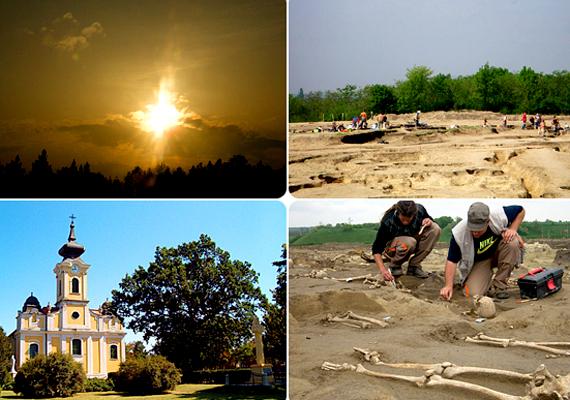 Perkátán több ezer halottat találtak a föld alatt egy ősi temető részeként.