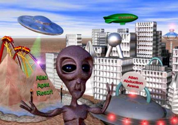 Az új-mexikói Roswellben hozták létre az Alien Apex Resortot, ahol olyan hullámvasút található, mely az UFO-k általi elrablást szimulálja.