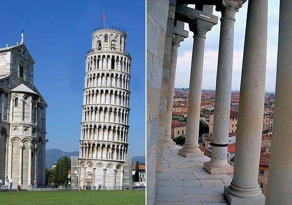 Az olaszországi Pisa a világ legismertebb ferde tornyának ad otthont. A harangtorony azért dőlt meg, mert gyenge volt a talaj. Többször is ki akarták egyenesíteni, sikertelenül, sőt, a próbálkozások miatt csak tovább süllyedt. Mára azonban biztosították, a szakértők szerint háromszáz évig még biztos, hogy állni fog.