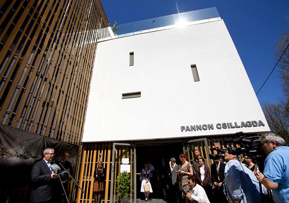 A Balaton-felvidéki Nemzeti Park Igazgatóság beruházása keretében nyitották meg idén a Pannon Csillagdát.