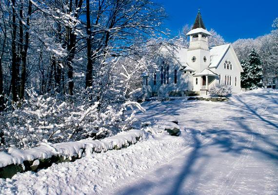 Így köszönt rá a tél az amerikai, New York állambeli Putnam vidékére. Kattints ide a nagy felbontású képért!