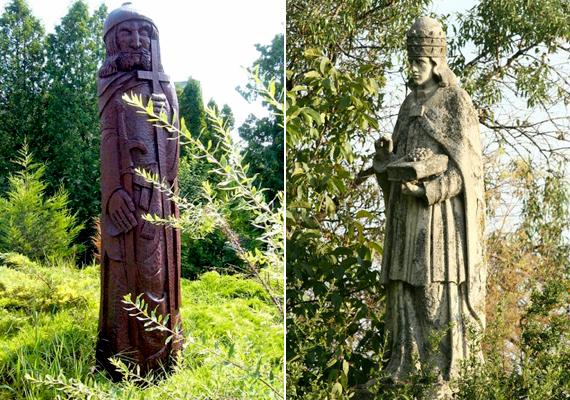 Orbánnak szentelt emlékművet az ország több pontján is emeltek, ő volt ugyanis a szőlő és a bor védőszentje. A bal oldali képen a Zalakaroson - a honfoglalás 1100. évfordulóján - felavatott emlékmű látható, míg a jobb oldalin egy életnagyságú szobor, mely a budapesti, 22. kerületi Diótörő utcában látható.