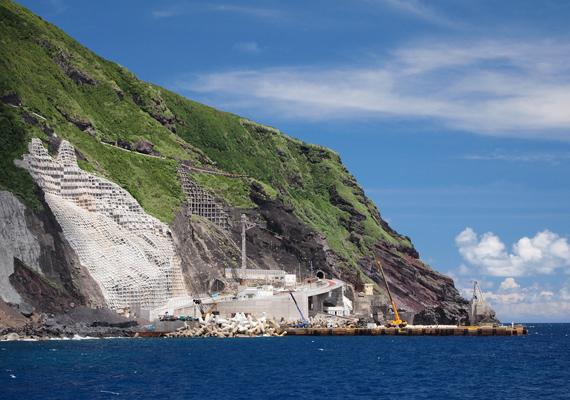 Évmilliók kellettek ahhoz, hogy a vulkáni sziget felvegye mai formáját.