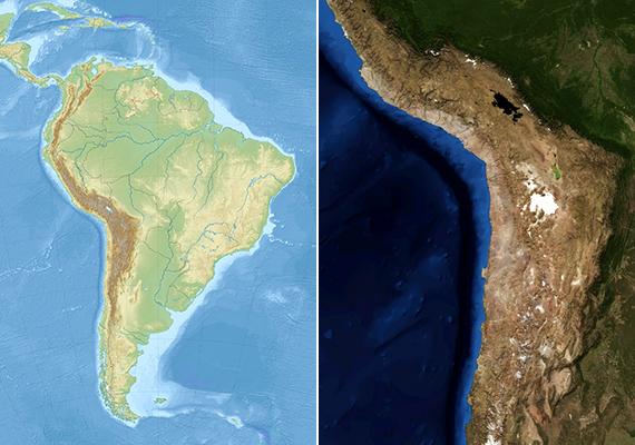 Az Atacama-sivatag egy Peru és Chile területén, a Csendes-óceán és az Andok között ezer kilométer hosszan elterülő kavics- és homoksivatag, mely egyúttal bolygónk egyik legöregebb sivatagát jelenti.