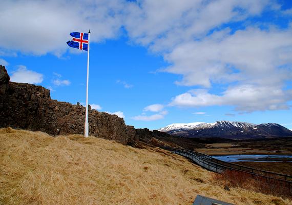 Mindezt ma már csak egy zászló jelöli, ugyanis a tektonikai mozgolódások jelentősen megváltoztatták a területet.