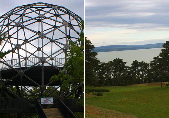Nem is olyan régóta újra látogatható a Balatonbogláron található, különleges Gömbkilátó is.