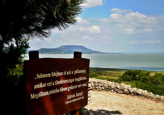A Balatongyörök határában található, Bece-hegyi Szépkilátó nem véletlenül kapta ezt a nevet. A Szigligeti-öbölre nyújt felejthetetlen kilátást.
