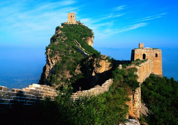 A Kínai Nagy Fal egyike a világ hét csodájának. Kattints ide a nagy felbontású képért!