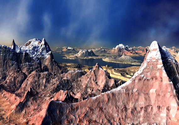 Az észak-amerikai Sziklás-hegység a bolygó egyik legvadregényesebb tája. Kattints ide a nagy felbontású képért!