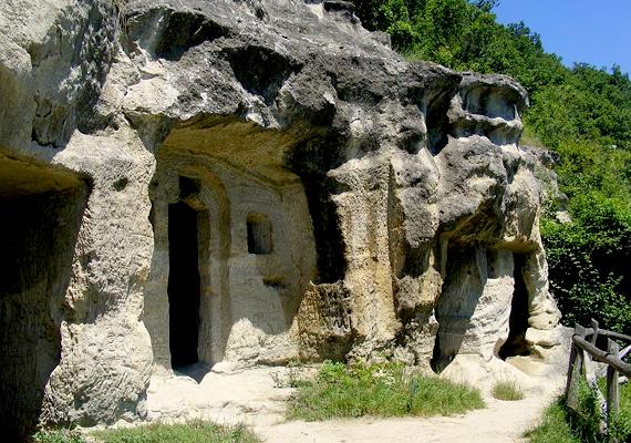 Remetebarlang Mátraverebélyen, melyet főként a 18. században használtak.